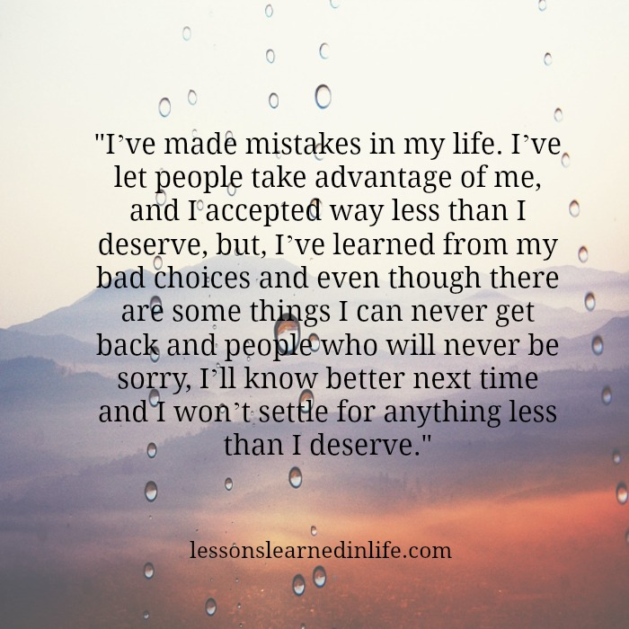 Lessons Learned in Life | I've learned. Poems About Life Lessons Learned