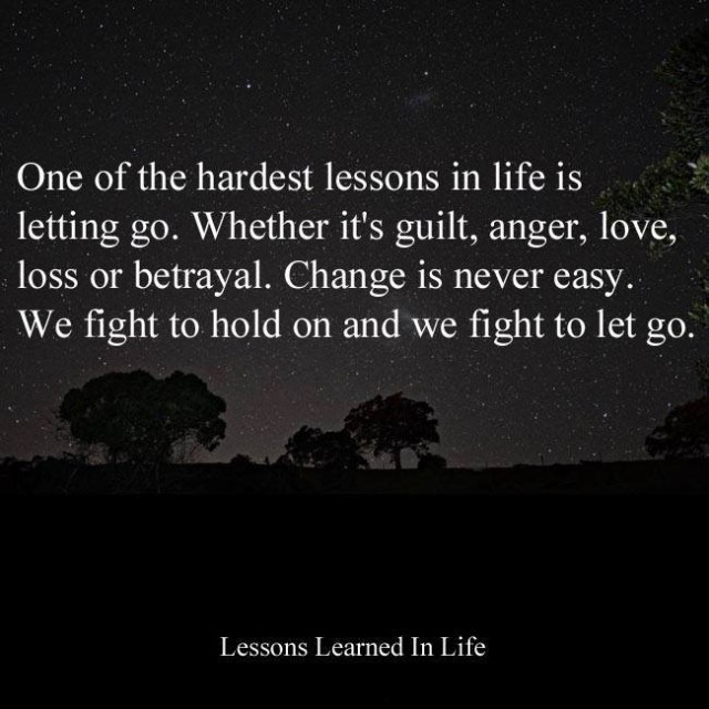 Love Each Other When Two Souls: Lessons Learned In LifeOne Of The Hardest Lessons In Life