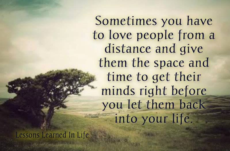 Lessons Learned In LifeLove People From A Distance