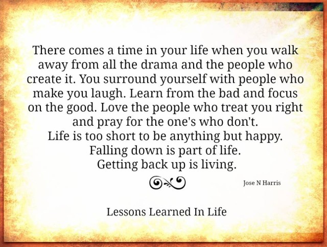 Love Each Other When Two Souls: Lessons Learned In LifeThere Comes A Time In Your Life