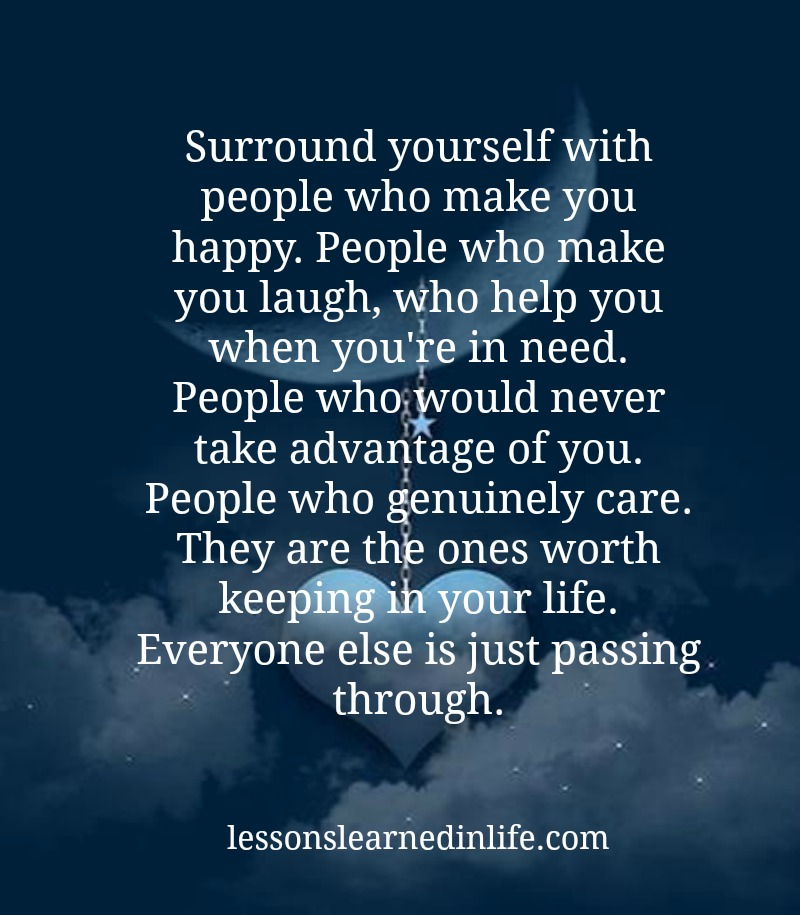 Quotes About People Who Notice: Lessons Learned In LifeEveryone Else Is Just Passing