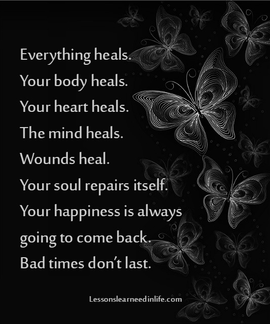 Lessons Learned In Lifebad Times Dont Last Lessons Learned In Life