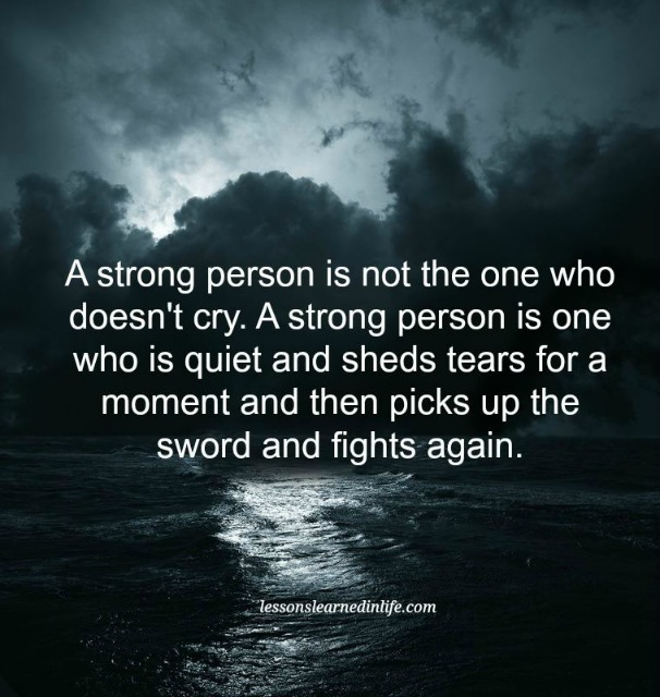 Lessons Learned In LifeBeing A Strong Person.   Lessons Learned In Life