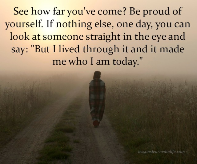 October 28 2014 4 84 See How Far You Ve Come Be Proud Of