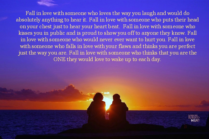 Love Each Other When Two Souls: Lessons Learned In LifeFall In Love.