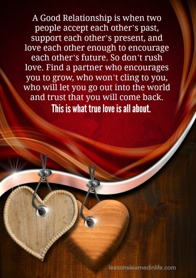 Lessons Learned In Lifethis Is What True Love Is All About