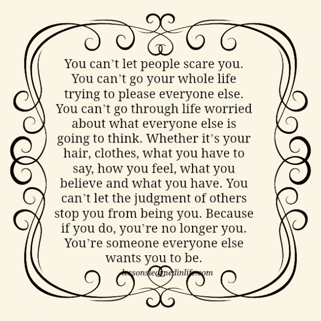 Quotes You Can Please Everyone: Lessons Learned In LifeYou Can't Go Your Whole Life Trying