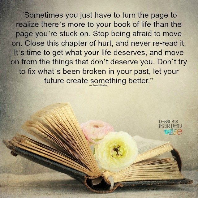 Turn The Page Quotes Magnificent Lessons Learned In Lifebook Archives  Lessons Learned In Life