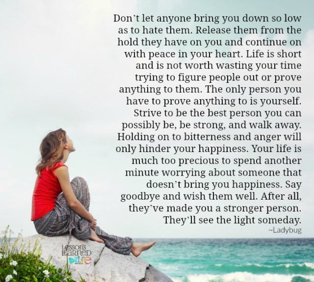 Don T Let Others Bring You Down Quotes: Lessons Learned In LifeDon't Let Anyone Bring You Down