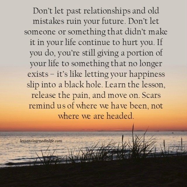 Lessons Learned In Lifedon T Ruin Your Future Lessons