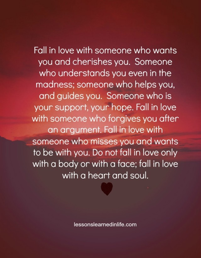 Love Each Other When Two Souls: Lessons Learned In LifeFall In Love With A Heart And Soul