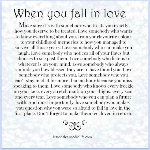 Lessons Learned In Lifefalling In Love Lessons Learned In Life