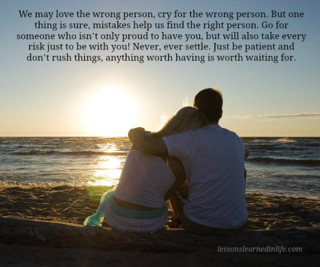 how to find the right person for me
