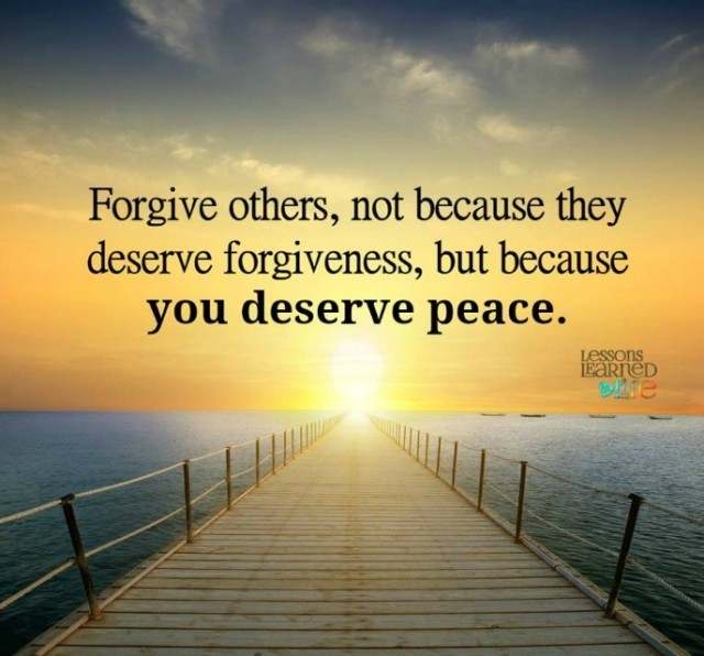 Lessons Learned In Lifeforgive Others Lessons Learned In Life