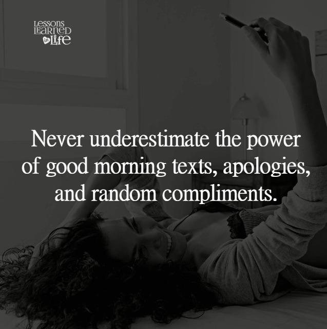 Lessons Learned In Lifegood Morning Lessons Learned In Life