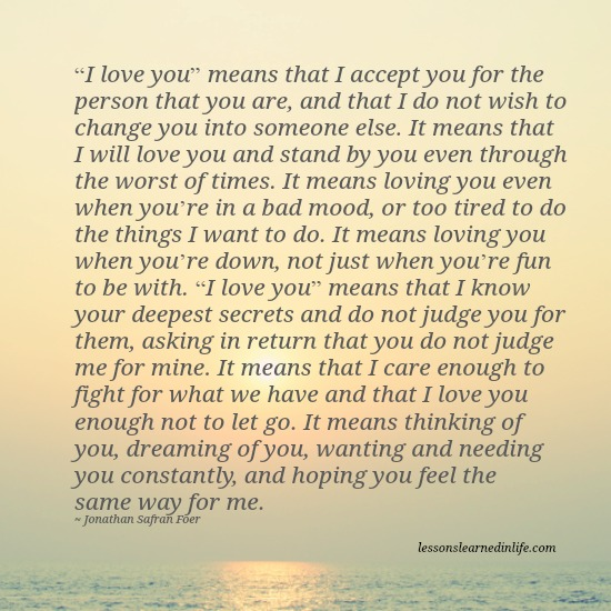 Quotes About Life And Love And Lessons Fair Lessons Learned In Lifei Love You Means Lessons Learned In Life