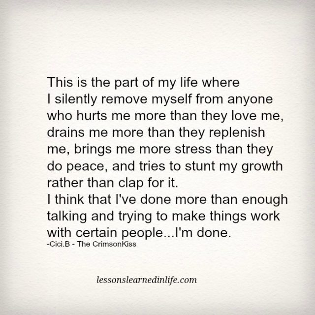 Inspirational Quotes On Pinterest: Lessons Learned In LifeI'm Done.