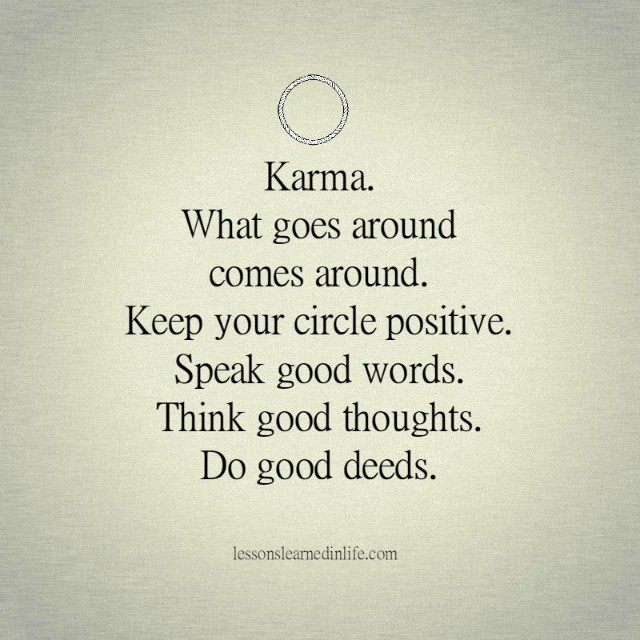 Lessons Learned In LifeKarma