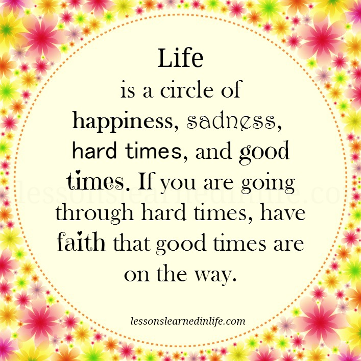 Lessons Learned In Lifelife Is A Circle Lessons Learned In Life