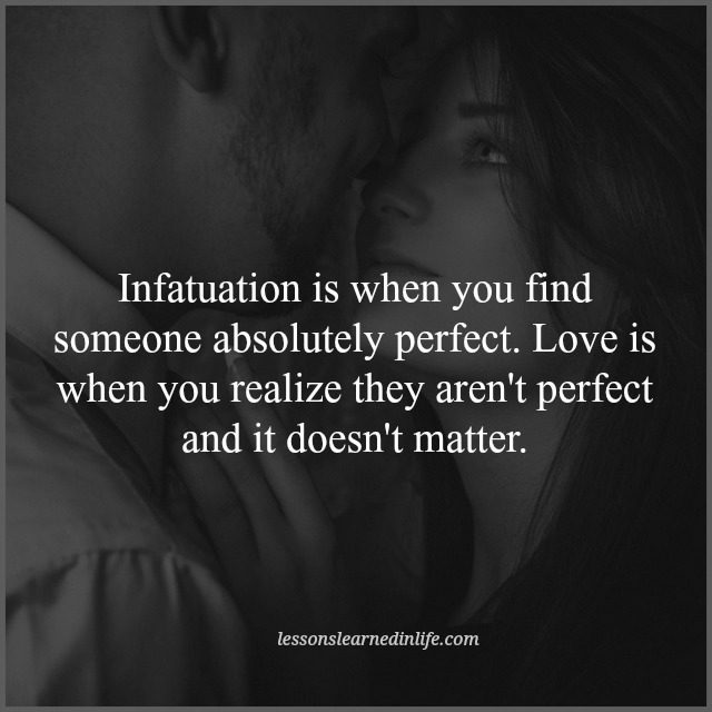 Love Each Other When Two Souls: Lessons Learned In LifeLove And Infatuation.