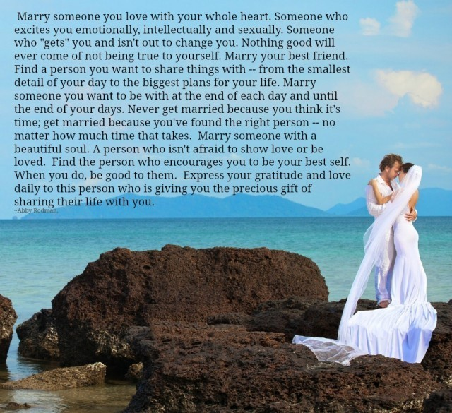 Love Each Other When Two Souls: Lessons Learned In LifeMarry Someone You Love With Your