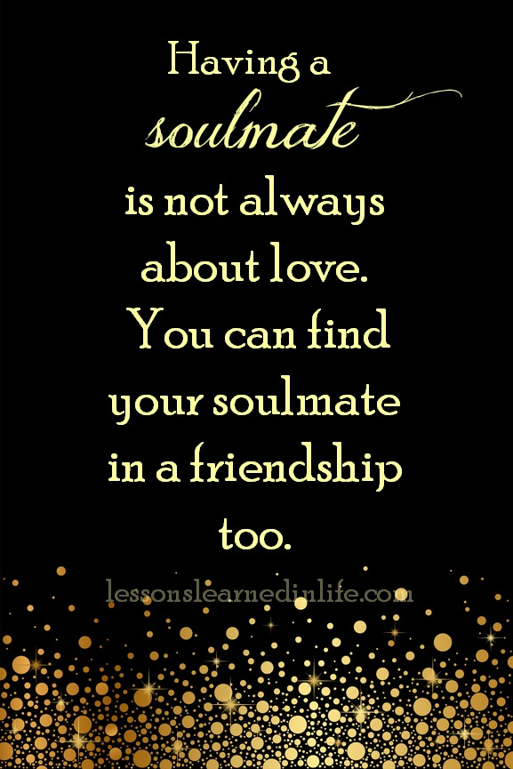 Love Each Other When Two Souls: Lessons Learned In LifeNot Always About Love.