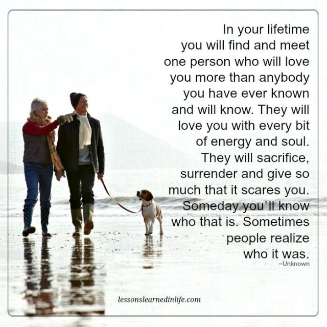 Love Each Other When Two Souls: Lessons Learned In LifeOne Person Who Will Love You More