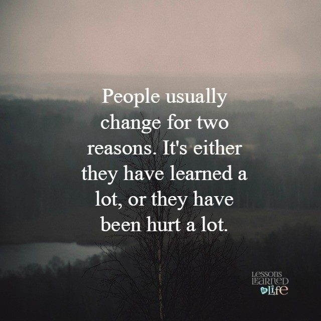 Lessons Learned In LifePeople Change Lessons Learned In Life Simple Lessons Learned Quotes