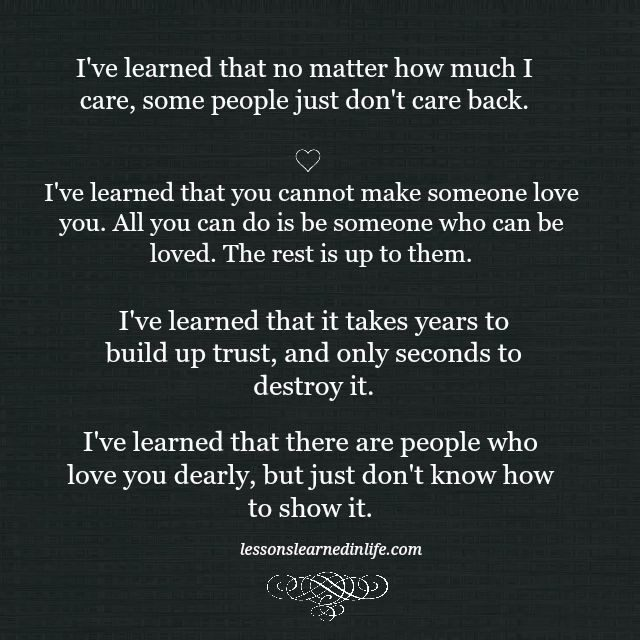lessons learned in lifesome people just don t care lessons rh lessonslearnedinlife com