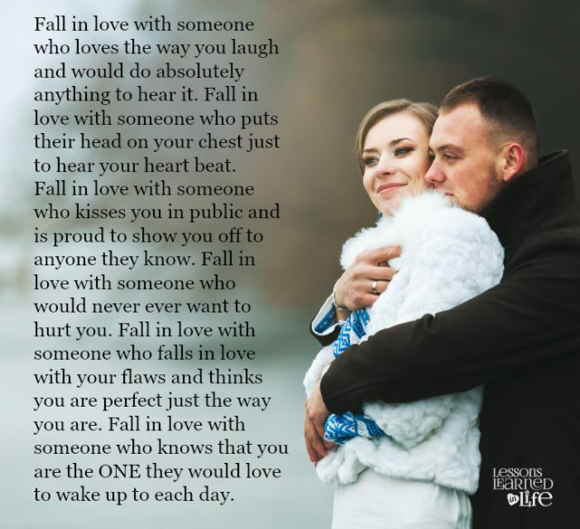 Lessons Learned In LifeSomeone Who Knows You Are The One