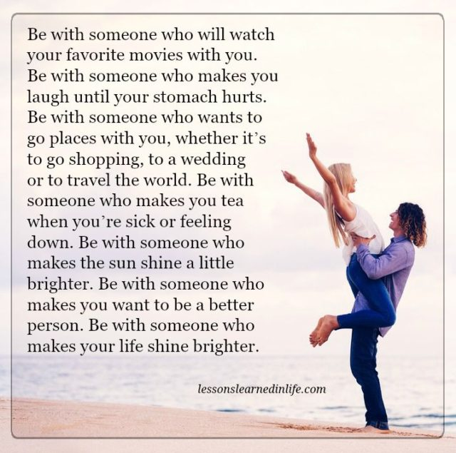 Lessons Learned In LifeSomeone Who Makes Your Life Shine