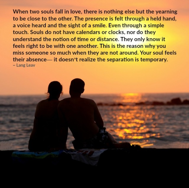 Love Each Other When Two Souls: Lessons Learned In LifeSouls Falling In Love.
