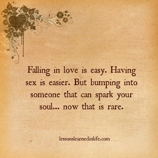 Love Each Other When Two Souls: Lessons Learned In LifeSpark Your Soul.