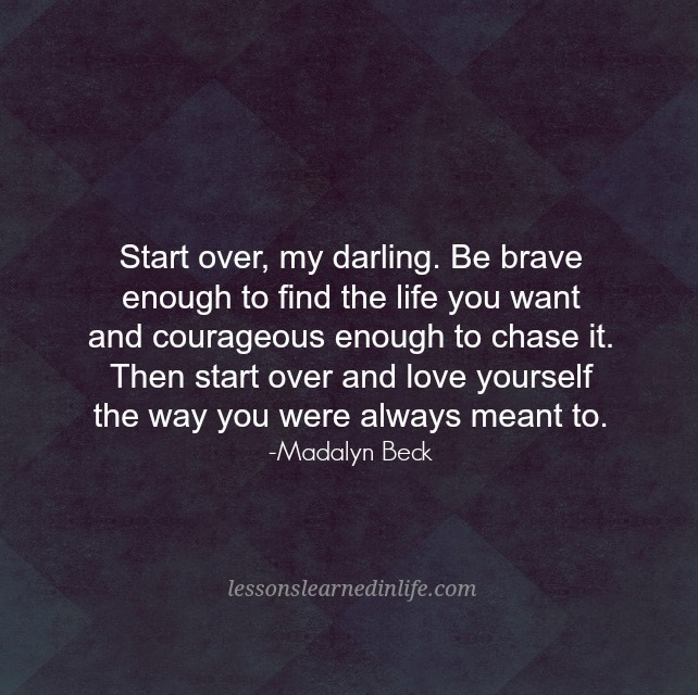 Lessons learned in lifestart over my darling lessons learned in life - The house in which life starts over ...
