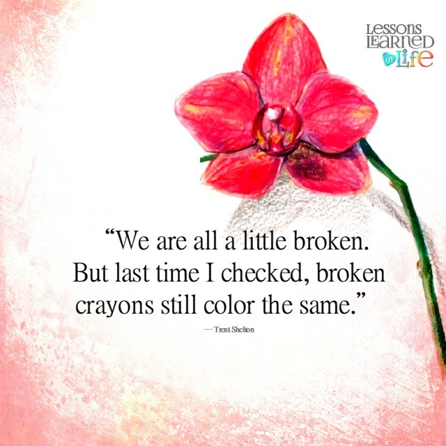 Lessons Learned In Lifestill Color The Same Lessons Learned In Life