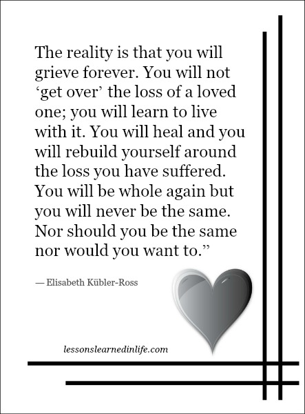 Grief and Loss: 5 Lessons We Can Learn from Losing a Loved One