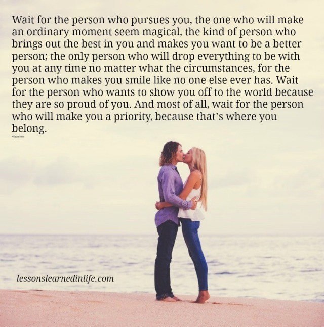 I The One Who Wants To Be With You