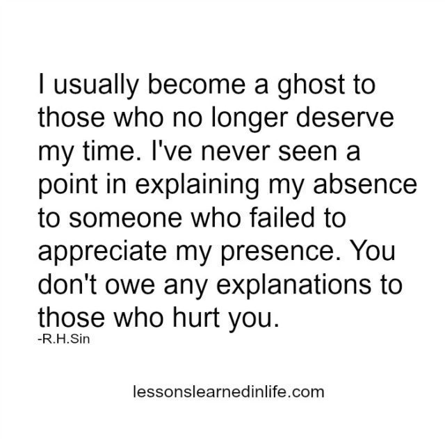 Lessons Learned in LifeThose who hurt you. - Lessons Learned in Life