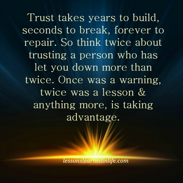 Lessons to be learned in the