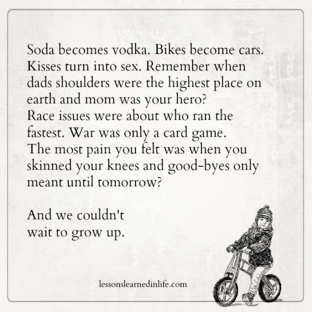when to grow up