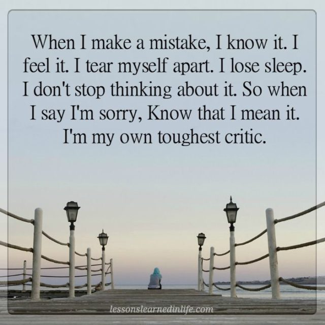 Lessons learned in lifewhen i say im sorry i mean it lessons 38 altavistaventures Choice Image