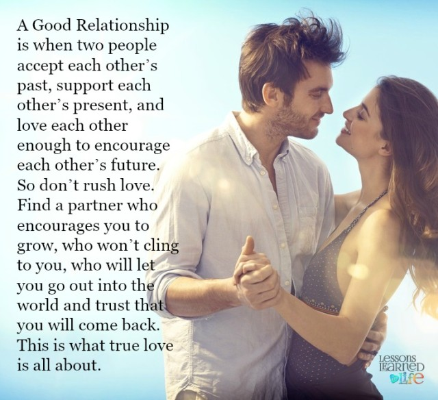 Love Each Other When Two Souls: Lessons Learned In LifeWhen Love Is True.