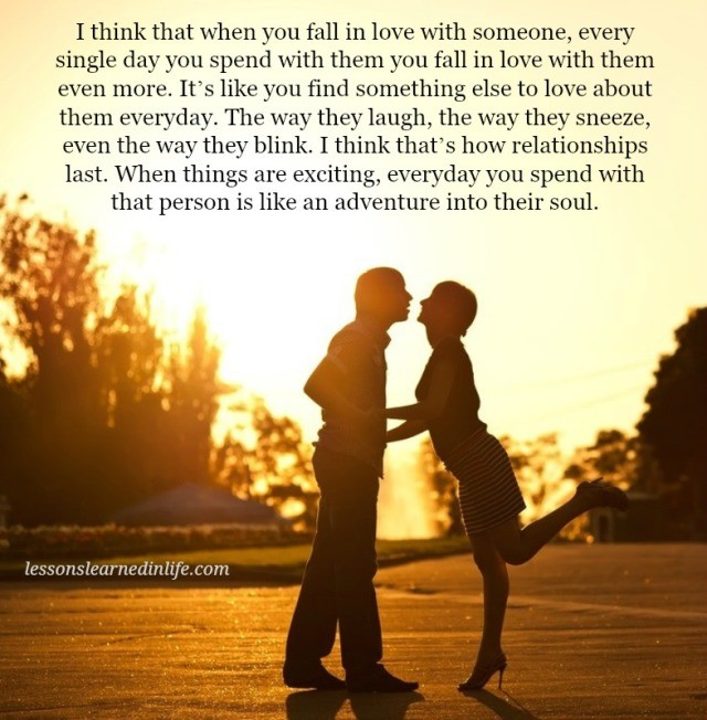 Love Each Other When Two Souls: Lessons Learned In LifeWhen You Fall In Love With Someone