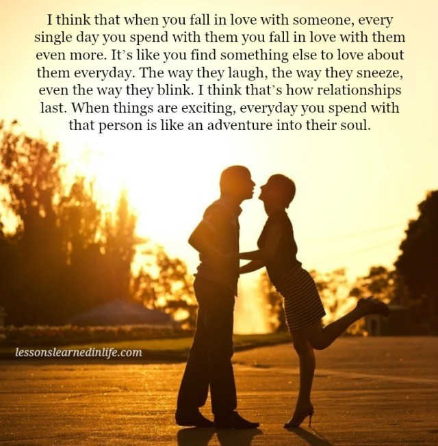 Lessons Learned In LifeWhen You Fall In Love With Someone