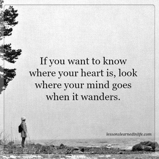 Lessons Learned In Lifewhere Your Heart Is Lessons Learned In Life