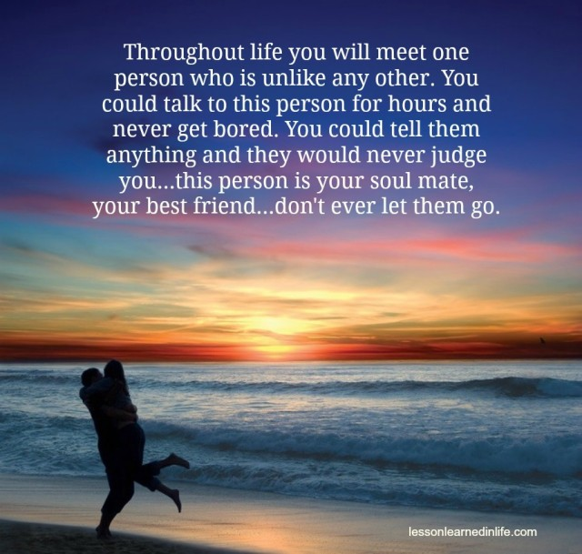 Love Each Other When Two Souls: Lessons Learned In LifeYour Soul Mate, Your Best Friend