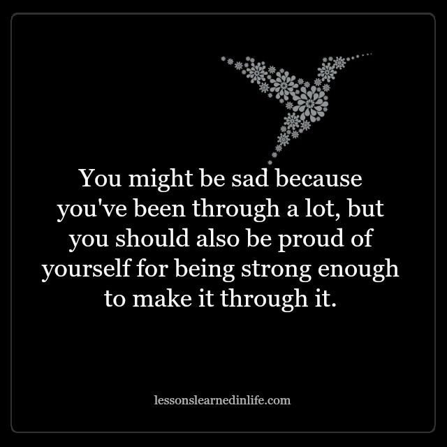 Lessons Learned In Lifeyouve Been Through A Lot Lessons Learned
