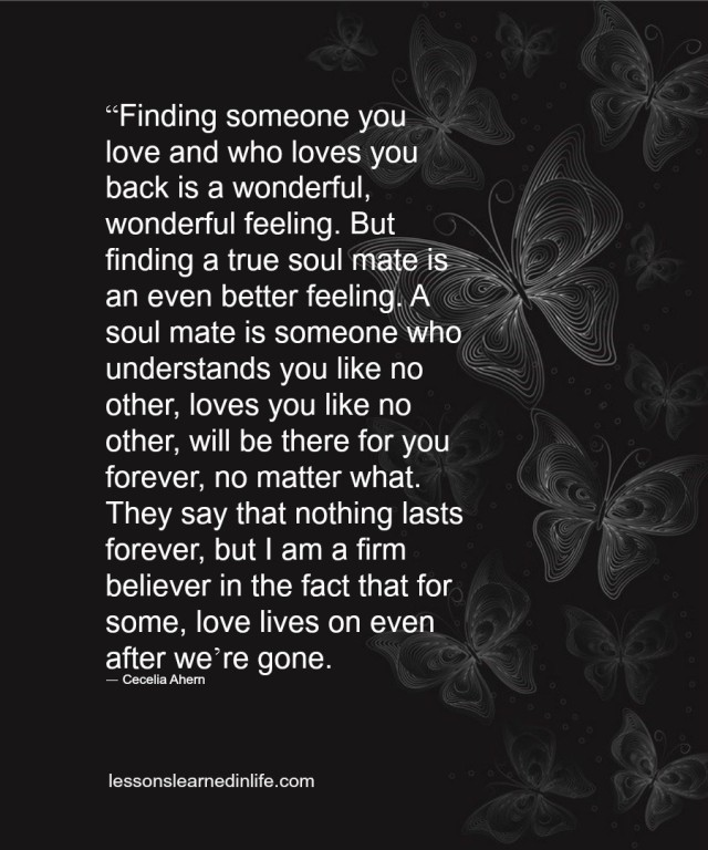 Love Each Other When Two Souls: Lessons Learned In LifeFinding A True Soul Mate.