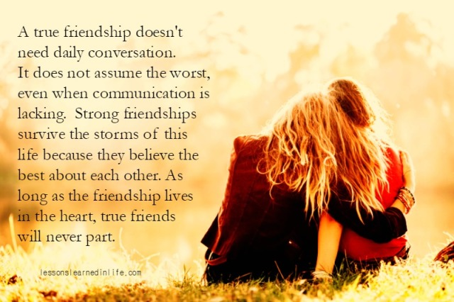 Quotes About Strong Friendships Best Lessons Learned In Lifea True Friendship Lessons Learned In Life