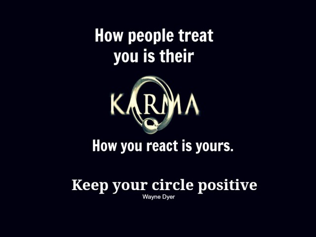 Lessons Learned In LifeKarma Keep Your Circle Positive